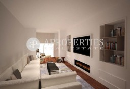 Designer penthouse, refurbished in Rambla Catalunya for sale