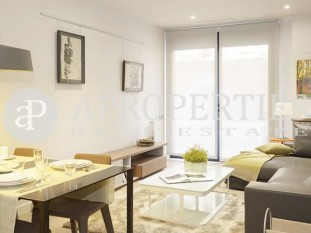 Exclusive brand new apartment for sale development with communal swimming pool in Eixample