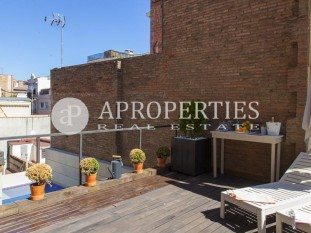Modern duplex penthouse for sale with private pool and solarium