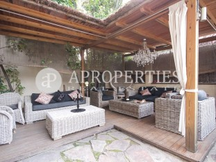 Exclusive house for rent in the upper area of Barcelona