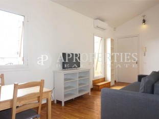 Furnished apartment with two terraces on Avenida Diagonal in Barcelona