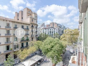 Fantastic and sunny furnished flat for sale in Rambla Catalunya, Barcelona