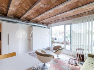 Charismatic penthouse for sale in La Rambla de Barcelona