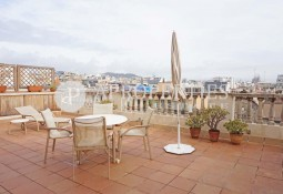 Magnificent penthouse for rent in Rambla Catalunya, Barcelona