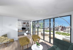 Exclusive brand new penthouse in Eixample Esquerra