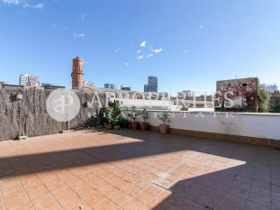 Beautiful apartment with large terrace in Poblenou, Barcelona