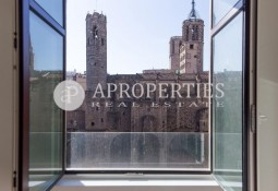 Luxury apartment with spectacular views in El Gòtic of Barcelona