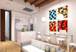 Fantastic brand new apartment in a royal estate in the Quadrat d'Or of Barcelona