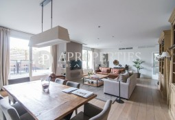 Exclusive penthouse for rent in Turó Park, Barcelona
