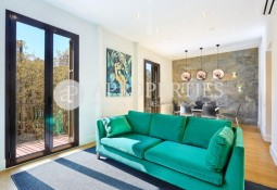 Spectacular brand new apartment at the crossroads of Avenida Diagonal with Paseo San Juan in Barcelona
