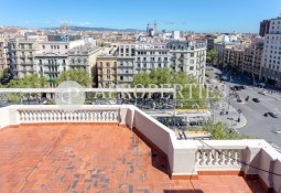 Penthouse with terreces, for sale, in Passeig de Gracia