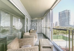 Luxury sea front condominium