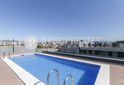 Fantastic brand new industrial design duplex in Poblenou
