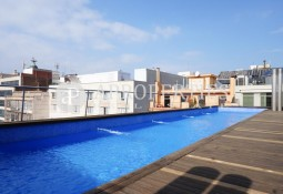 Beautiful furnished apartment with pool in l'Eixample