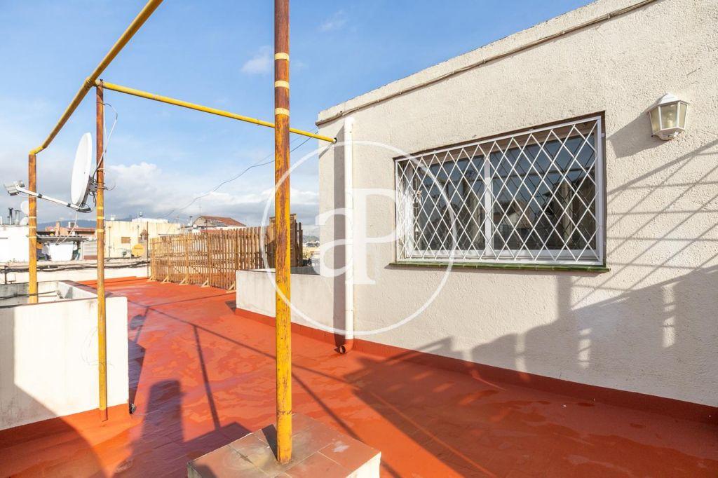 ático Con Terraza En Alquiler En Gran Via