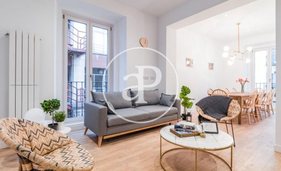 Flats for rent in Madrid